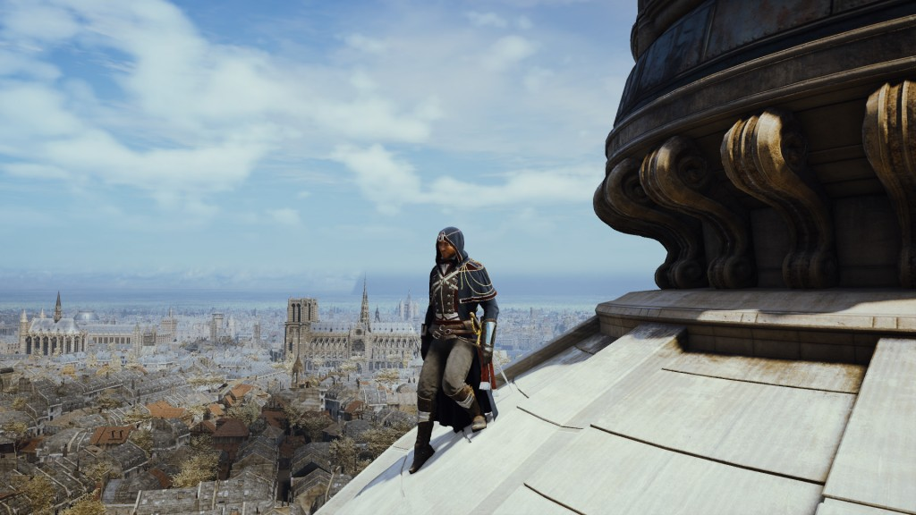 Arno perches over Paris