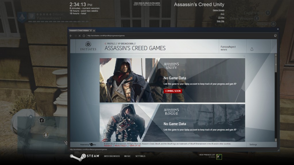Assassin's Creed Unity Initiates program